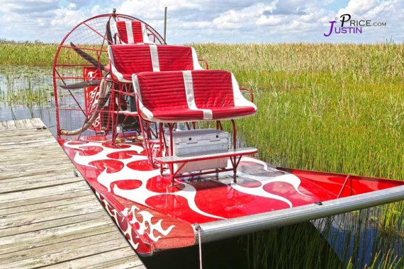 Out custom airboat, the Southern Thunder